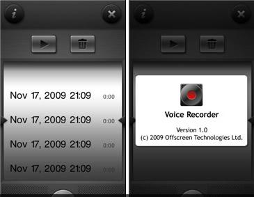 Voice Recorder (микрофон c Nokia 5230)